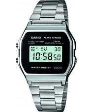 Casio A158WEA-1EF collezione di orologi Mens