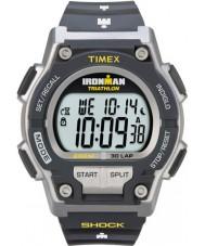 Timex T5K195 Uomo d'urto ironman grigio resistono orologio sportivo 30 ° giro