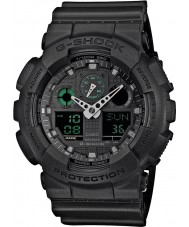 Casio GA-100MB-1AER Mens g-shock opaco orologio cinturino in resina nera