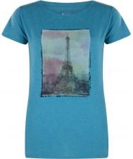 Dare2b Ladies tower sopra la maglietta blue marl smalto