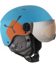 Cebe CBH209 Fireball jr blu arancione casco da sci - 49-54cm