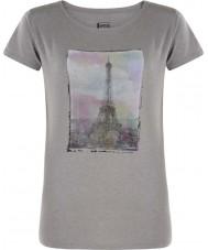 Dare2b Ladies tower sopra la maglietta grigia marl del cenere