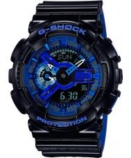 Casio GA-110LPA-1AER Mens g-shock tempo del mondo orologio cinturino in resina blu nero