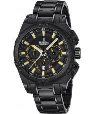 Festina F16969-3 Mens Chrono Bike orologio cronografo in acciaio nero