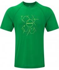 Ronhill T-shirt a maniche corte esagonale