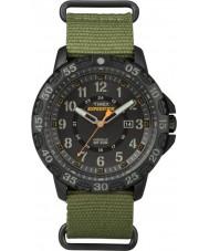 Timex TW4B03600 Mens spedizione Gallatin orologio cinturino in nylon verde