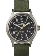Timex T49961 Mens spedizione orologio verde esploratore