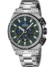 Festina F16968-3 Mens Chrono Bike orologio cronografo in acciaio silver