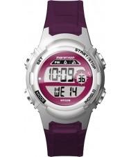 Timex TW5M11100 Donne maratona di orologi cinturino in resina viola