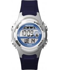 Timex TW5M11200 Donne maratona di orologi cinturino in resina blu