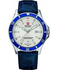 Swiss Military 6-4161-2-04-001-03 orologio cinturino in pelle blu Uomo di punta