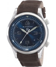 Elliot Brown 202-007-L07 Mens Canford orologio cinturino in pelle marrone
