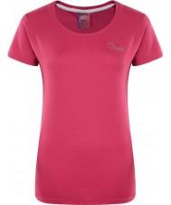 Dare2b DWT337-1Z008L Donne impulso elettrico rosa t-shirt - taglia UK 8 (XS)