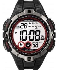 Timex T5K423 Mens Watch rosso sport nero maratona
