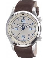 Elliot Brown 202-001-L09 Mens Canford orologio cinturino in pelle marrone