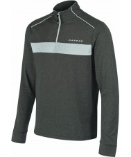 Dare2b Mens sanction grigio marl core stretch midlayer