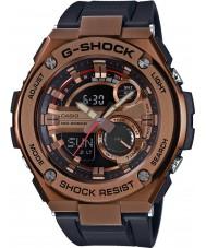 Casio GST-210B-4AER Mens g-shock luce principale auto orologio cinturino in resina nera