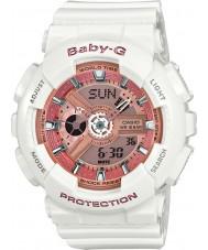 Casio BA-110-7A1ER Signore Baby-G tempo del mondo orologio cinturino in resina bianca