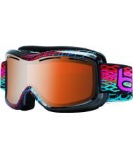 Bolle 20938 Monarch diamante nero - modulatore occhiali da sci pistola agrumi