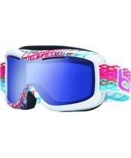 Bolle 20940 Monarch diamante bianco - blu aurora occhiali da sci