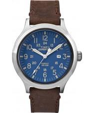 Timex TW4B06400 orologio cinturino in pelle marrone Mens spedizione esploratore