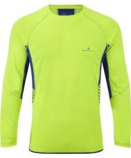 Ronhill RH00277-00038-XL Mens visione fluo cobalto giallo a maniche lunghe equipaggio - taglia XL