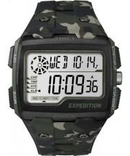 Timex TW4B02900 spedizione Mens digitale scossa kaki orologio crono camo