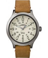 Timex TW4B06500 orologio cinturino in pelle marrone Mens spedizione esploratore