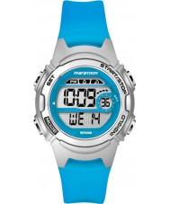 Timex TW5K96900 Donne maratona medie dimensioni resina blu orologio cronografo cinturino