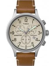 Timex TW4B09200 orologio cinturino in pelle marrone Mens spedizione