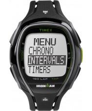 Timex TW5K96400 Ironman 150 giri a schermo intero orologio cronografo elegante cinturino in resina nera