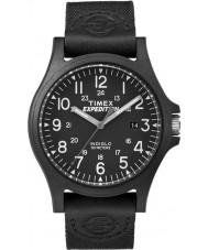 Timex TW4B08100 Mens spedizione orologio cinturino in tessuto nero
